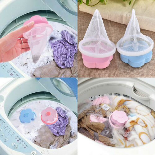 Floating Mesh Filter Bag Washing Machine Laundry Pouch Lint Filter Net Bag