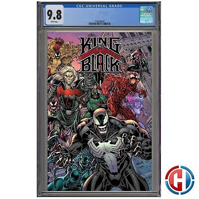 KING IN BLACK #1 CGC 9.8 Graded PRESALE 12//2//20 Marvel 1:200 EVERY SIMBIOTE VAR!