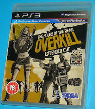 The House Of The Dead Overkill Extended Cut - Sony Playstation 3 PS3 - PAL