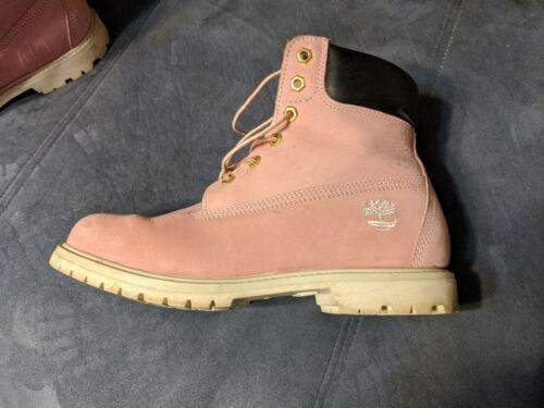 'strawberries and cream' Custom Timberland Boots.