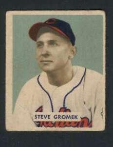 1949-Bowman-198-Steve-Gromek-VGEX-RC-Rookie-Indians-104384