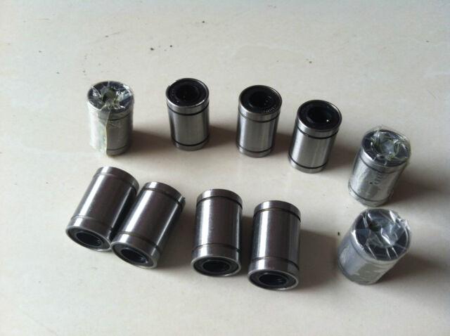 10pcs LM10UU 10x19x29mm Linear Ball Bearing For 3D Printer Reprap Prusa DIY CNC