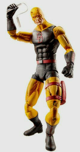 MARVEL LEGENDS ICONS Series Series Series Collection_YELLOW DAREDEVIL 12   figure_New_Unopened ea5a3c