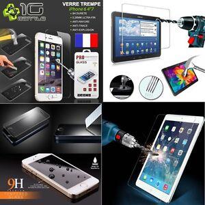 Verre-Protection-Ecran-iPhone4-5-6-6-7-8-10-IPAD2-3-4-MINI-AIR1-2-MINI4-PRO-9-7