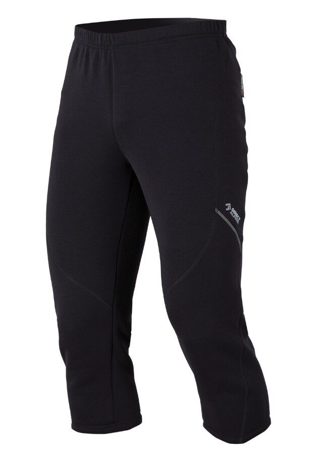 Direct Alpine Cima Plus Pant, warme 3 4-lange Powerstretch-Hose , schwarz