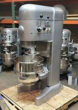 Hobart M802 80 Qt Mixer 2hp 3 Ph 220v With New Bowl And Dough Hook