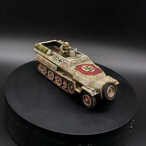 Ben-dipinti-28mm-BOLT-ACTION-tedesco-Halftrack-102-Inverno-Ww2