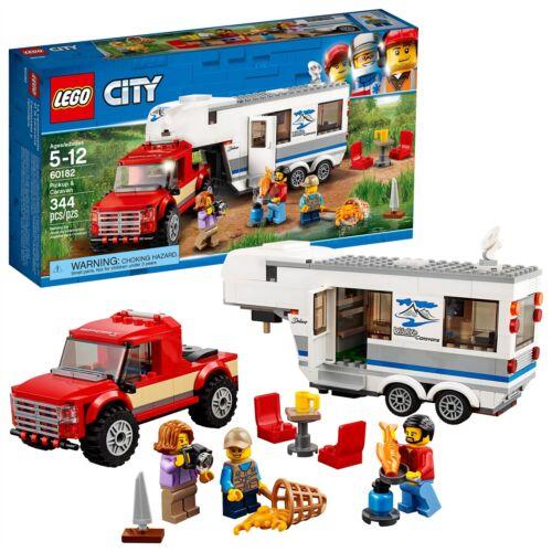 Pickup /& Caravan 60182 344 Pcs LEGO® City Great Vehicles
