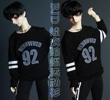 New 1/3 1/4 BJD SD CLothes Classic Black tops motion Bat shirt BJD CLothes