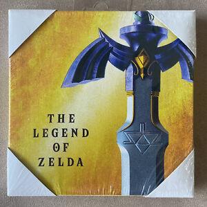 "Official Nintendo The Legend of Zelda Sword Canvas Art 6x6"" Rare Collectible"