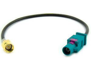 Fakra-Antennenadapter-GPS-DAB-Navi-auf-SMA-Stecker-fuer-Audi-Ford-BMW-Mercedes-VW