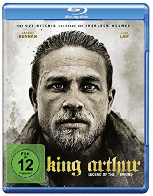 King Arthur: Legend of the Sword Blu-ray NEU OVP Guy Ritchie