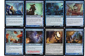 4 Lord of the Unreal = Blue m12 Magic 2012 Mtg Magic Rare 4x x4