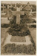Cimetière Militaire Militairy Cemetery Soldaten-Friedhof * Foto-AK WW I RPPC