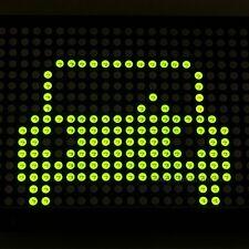 P7.62 24X16 2416 Green LED Dot Matrix Unit Board  LED Display Board