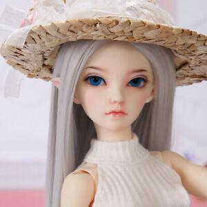 1-4-BJD-Doll-SD-Doll-Girl-FL-Siean-elf-Free-Face-Make-UP-Free-Eyes