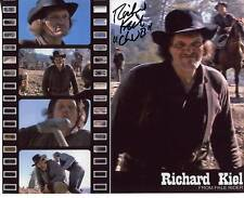 "RICHARD KIEL JAMES BOND VILLAIN ""JAWS"" ACTOR SIGNED COLOR PHOTO AUTOGRAPH"