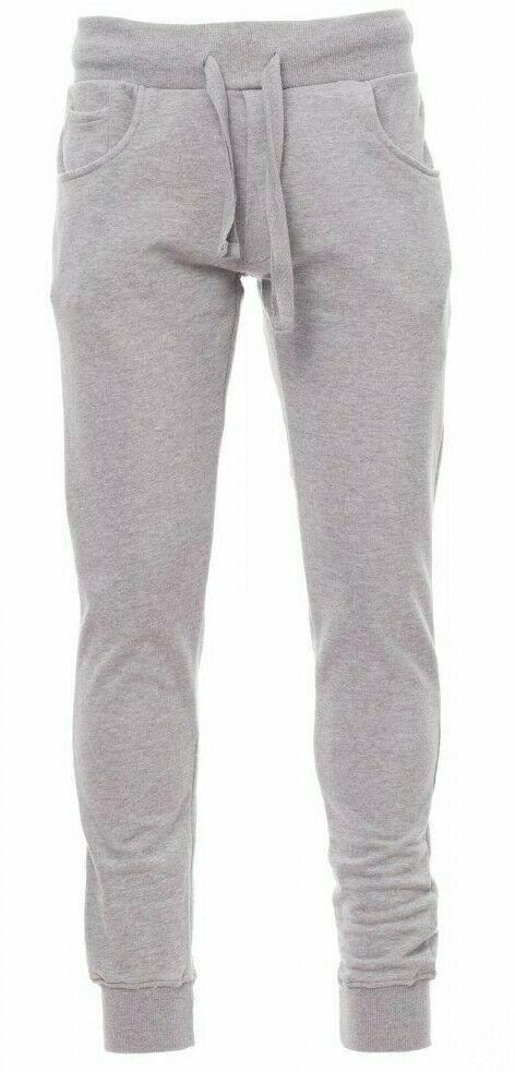 Pantalone tuta taglie forti uomo garzato cotone cotone cotone estivo leggero over no Maxfort c57a23