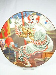 Vintage-Porcelain-Plate-The-Greatest-Clowns-of-the-Circus-Felix-Adler