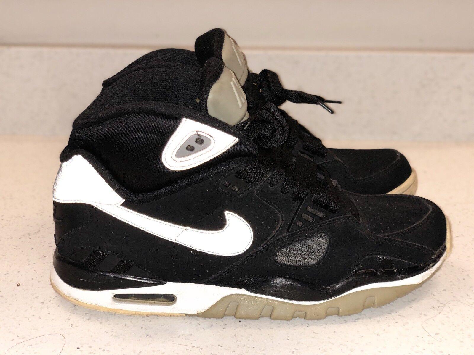 Nike Air Trainer SC II sz 8.5 Bo Jackson Raiders 443575-011 Rare Vintage!
