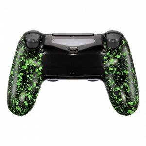 Military-Gamer-Grip-Gehaeuse-PS4-Controller-Slim-Pro-JDM-040-055-Anti-Sweat-Green