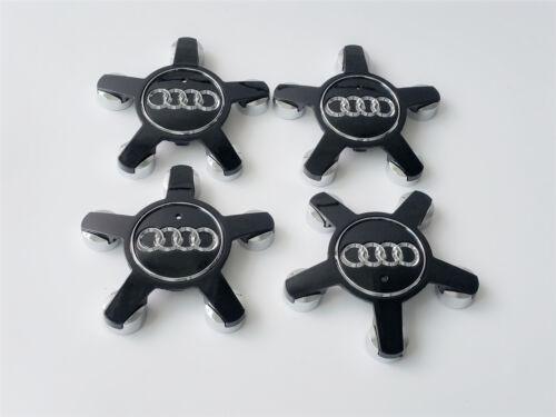4x Audi Roue Alliage insignes Centre Star Caps 135 mm 4F0601165N A3 A4 A5 A6 A7 Q5 r