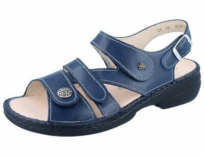 FINN COMFORT Gomera Damen Sandalen blau atlanticNube | eBay