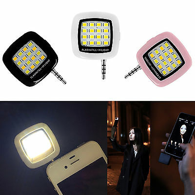 1pc Original Selfie rechargeable Flash Light Natural White LED Lamp for Phone