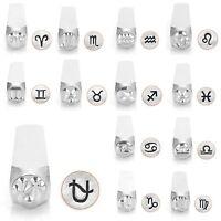Metal Jewelry Design Stamps By Impressart (zodiacs) 6mm