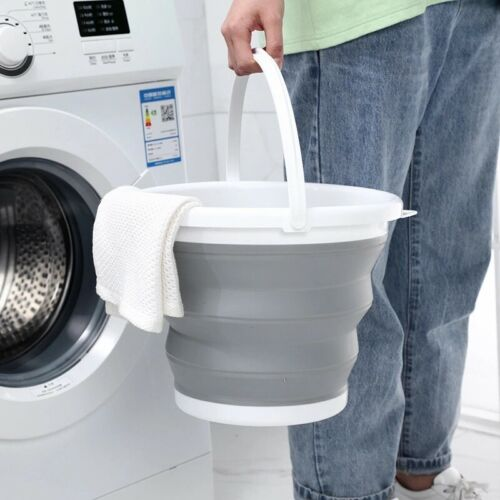 Premium Collapsible Bucket Portable Folding Water Container Space Saving Buckets
