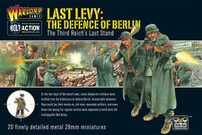 LAST LEVY. THE DEFENCE OF BERLIN   - GERMAN  BOLT ACTION - WARLORD GAMES WW2 -