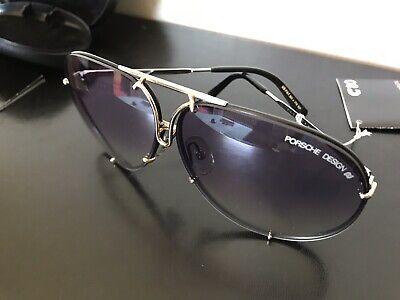 Affidabile Ultrarare Carrera Porsche Design Vnt Sunglasses M.5623/71(black/silver/gold)nos!
