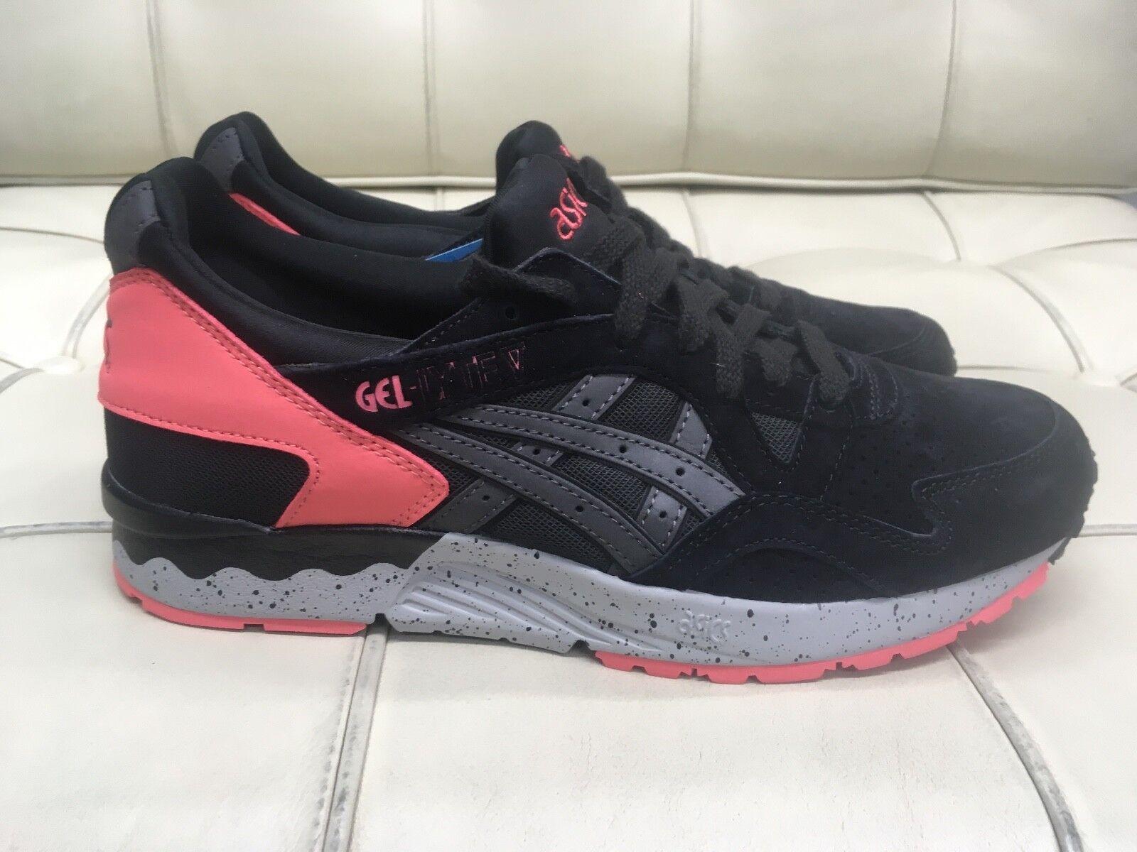 Asics Men's Gel Lyte 5 - Infrared/Black - Men's Size: 8