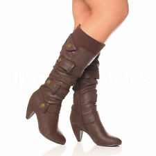Brown Ombre Slouch Ankle BOOTS UK