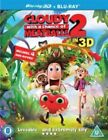 Cloudy With a Chance of Meatballs 2 2d & 3d UK BLURAY