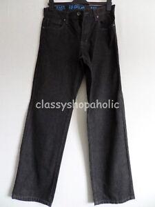 Matalan-Easy-1973-Noir-Jeans-Taille-32R-Entierement-NEUF-sans-etiquette