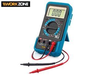 Montage-MULTIMETER-digital-Voltmeter-300-V-10-A-Messgeraet-ANTI-SHOCK-yx315-3612