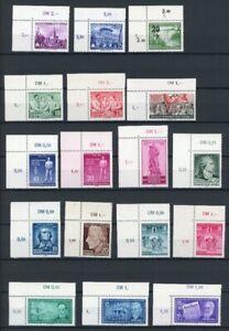 DDR-Jahrgang-1955-ohne-MiNr-453-58-postfrisch-MNH-mit-Eckrand-o-l-GF16118