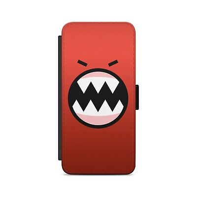 size 40 372c5 89873 RED MONSTER Art Leather Flip Wallet Phone Case for iPhone Samsung | eBay