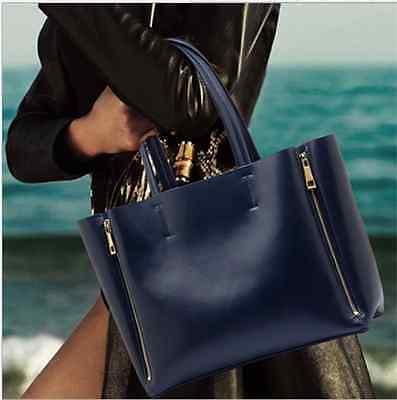 New Fashion Real Genuine Leather Baggu Leather Tote Handbag Womens Shoulder Bags