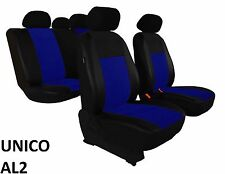 SUZUKI SX4 2006 ONWARDS ECO LEATHER ALCANTRA SEAT COVERS MADE TO MEASURE FOR CAR