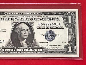 #E224b 1957 A blue seal Silver Certificate