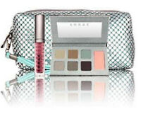Lorac Mint Edition Eye Shadow Palette Collection With Sequin Bag & Lip Gloss
