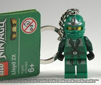 LEGO NEW Ninjago Green Ninja Lloyd ZX Minifigure Keychain 9574 9450