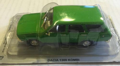"""DIE CAST /"""" DACIA 1300 KOMBI /"""" AUTO DELL/' EST SCALA 1//43"""