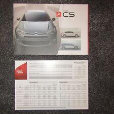 Genuine New CITROEN C5 REAR BADGE Tourer VTR HDi Comfort Exclusive SX V6 8665.EQ