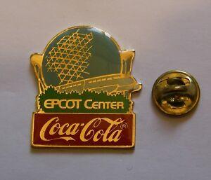 DISNEY-COCA-COLA-EPCOT-CENTER-1982-vintage-pin-badge