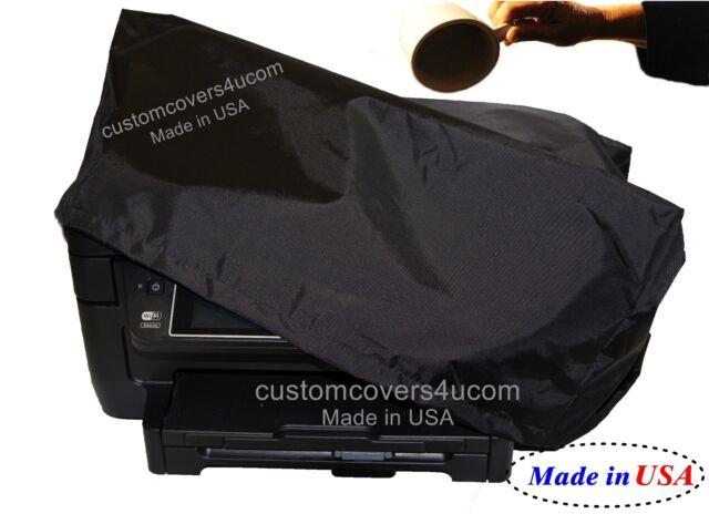 Epson Perfection V600 Scanner BLACK NYLON DUST COVER WATER REPELLENT !