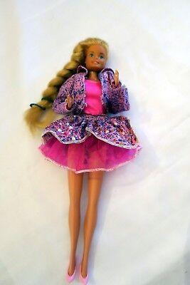 Vendita Economica Poupée Barbie 29 Cm Mattel 1966 Gravé Au Dos Avec Vêtements Chaussures