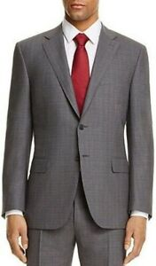 7c5eb91cb76240 Image is loading 1200-Canali-Modern-Fit-IMPECCABLE-Suit-Jacket-40R-